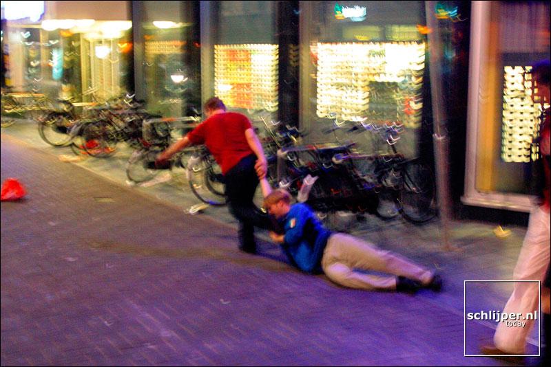 Nederland, Amsterdam, 1 september 2002