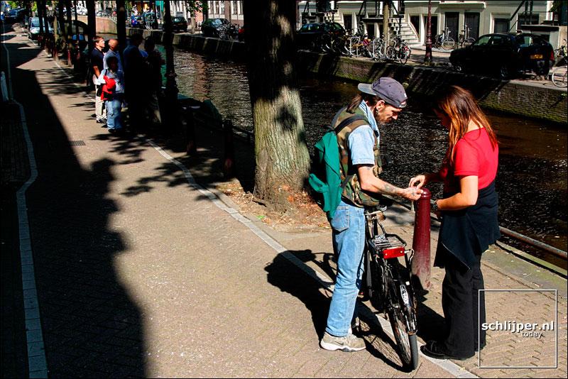Nederland, Amsterdam, 3 september 2002
