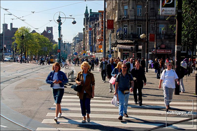 Nederland, Amsterdam, 13 september 2002