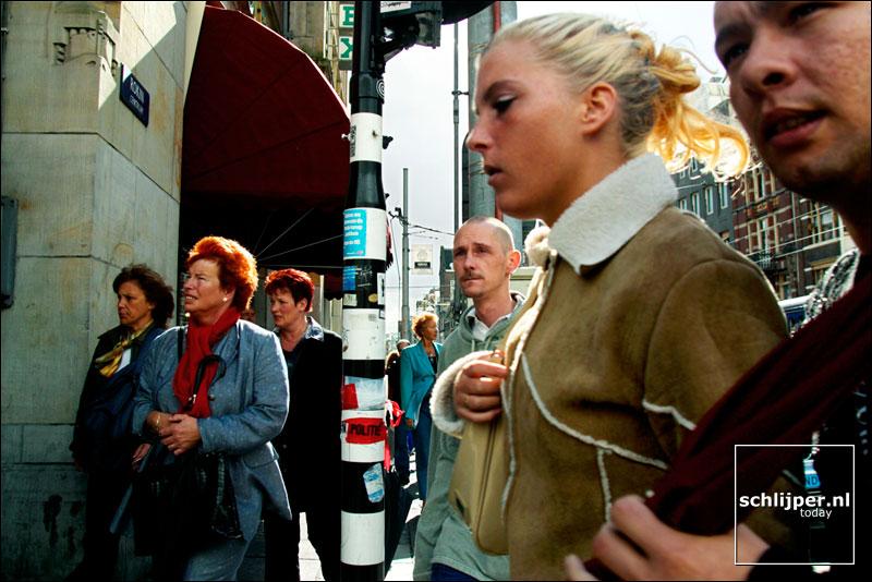 Nederland, Amsterdam, 22 september 2002