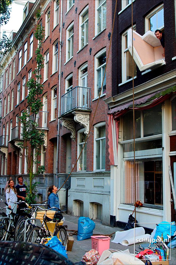 Nederland, Amsterdam, 23 september 2002