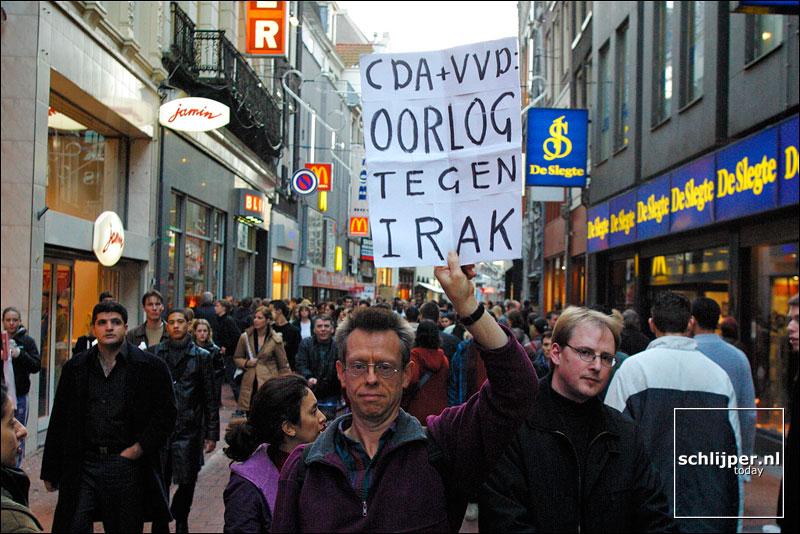 Nederland, Amsterdam, 2 november 2002