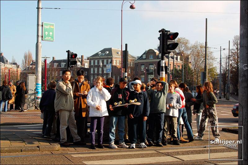 Nederland, Amsterdam, 5 november 2002