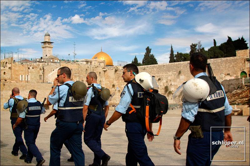 Israel, Jeruzalem, 9 november 2002