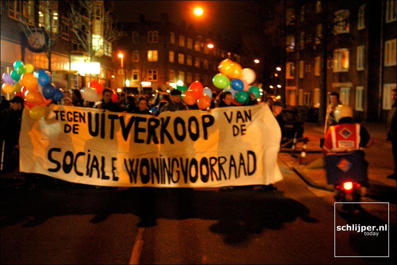 Nederland, Amsterdam, 14 januari 2003
