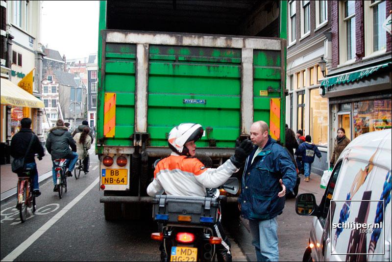 Nederland, Amsterdam, 18 januari 2003