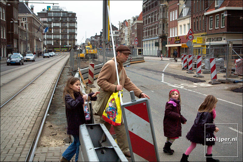 Nederland, Amsterdam, 12 maart 2003