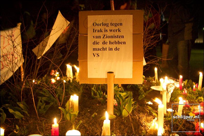Nederland, Amsterdam, 20 maart 2003