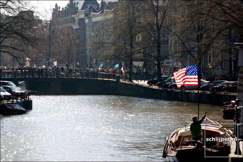 Nederland, Amsterdam, 22 maart 2003