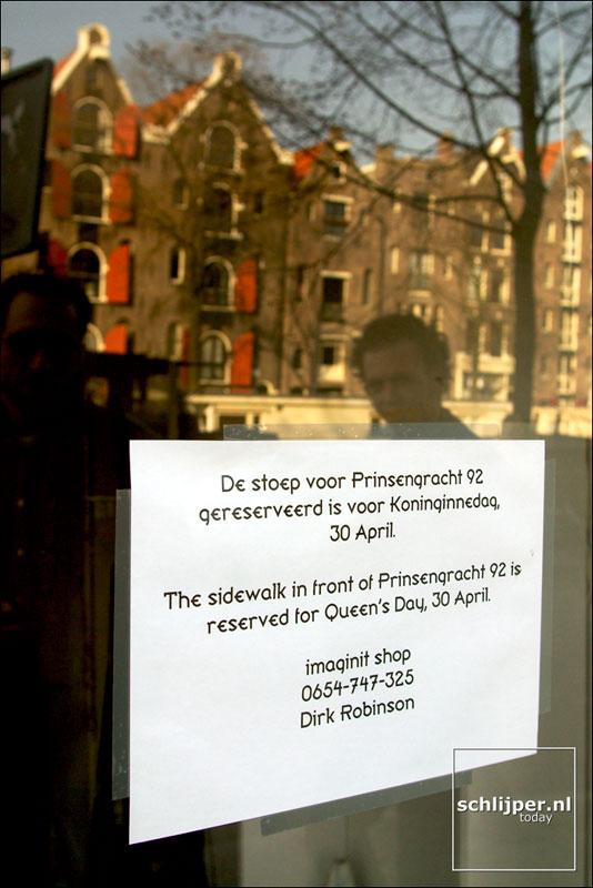 Nederland, Amsterdam, 24 maart 2003