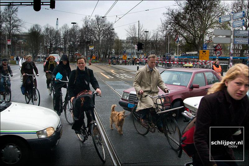 Nederland, Amsterdam, 1 april 2003