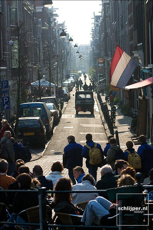 Nederland, Amsterdam, 12 april 2003