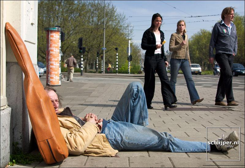 Nederland, Amsterdam, 14 april 2003