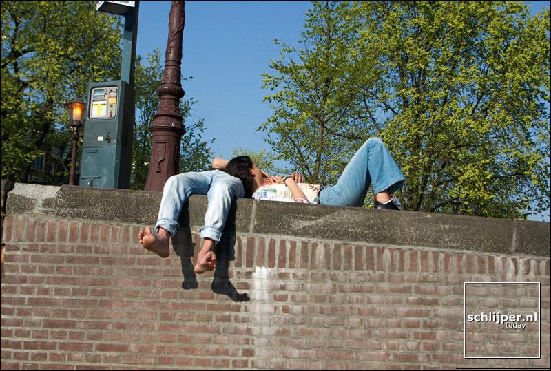 Nederland, Amsterdam, 16 april 2003