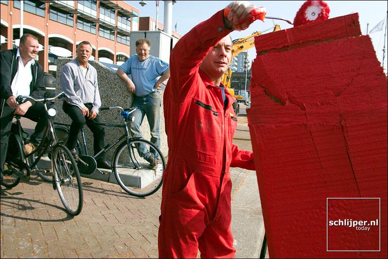 Nederland, Scheveningen, 24 april 2003