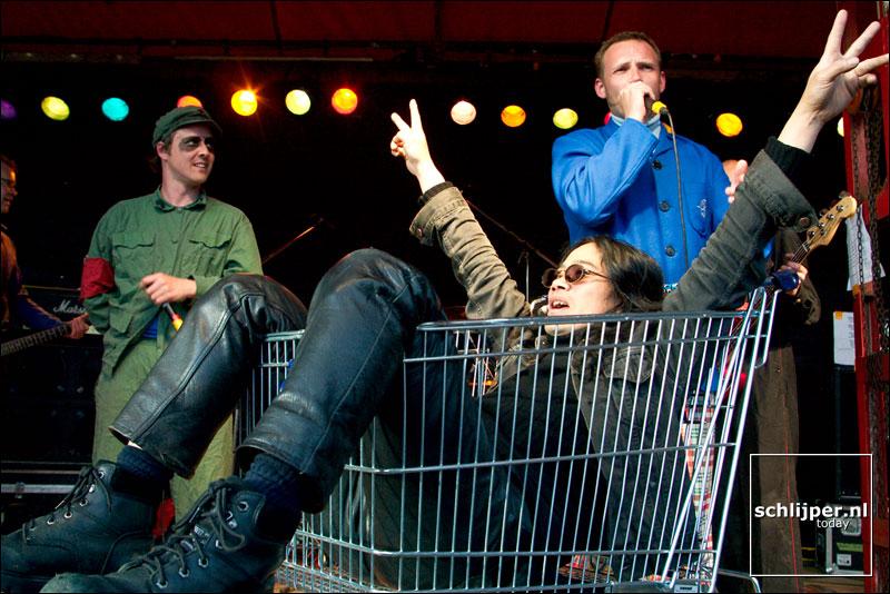 Nederland, Amsterdam, 30 april 2003