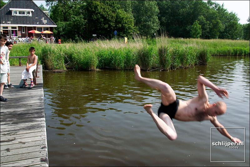 Nederland, Spaarnwoude, 1 juni 2003