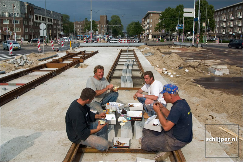 Nederland, Amsterdam, 12 juni 2003