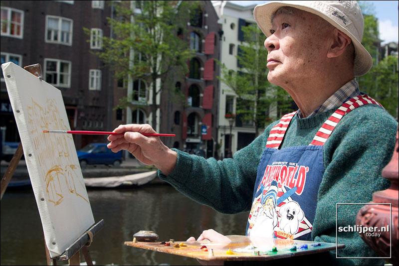 Nederland, Amsterdam, 25 juni 2003