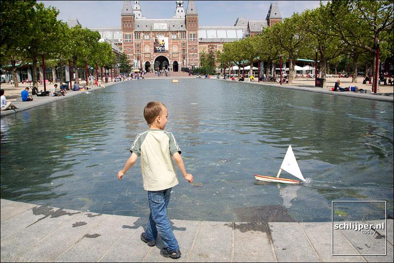 Nederland, Amsterdam, 7 juli 2003