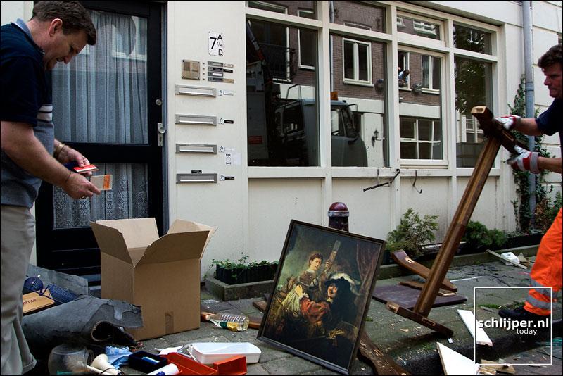 Nederland, Amsterdam, 8 juli 2003