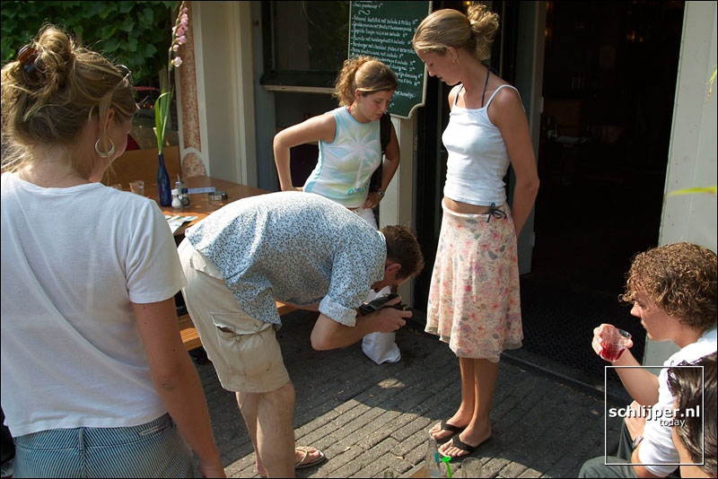 Nederland, Amsterdam, 21 juli 2003