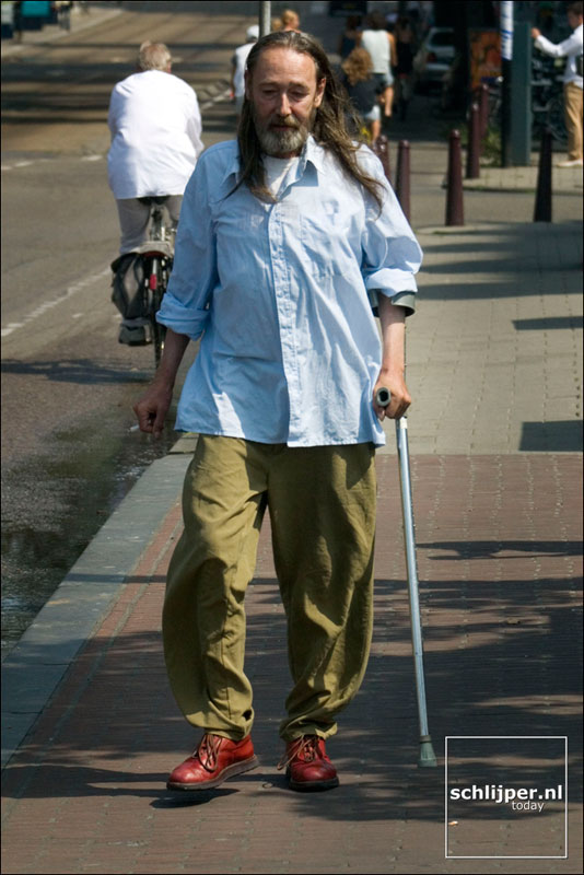Nederland, Amsterdam, 10 augustus 2003