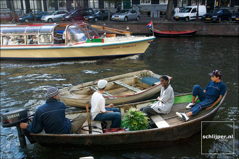 Nederland, Amsterdam, 26 augustus 2003