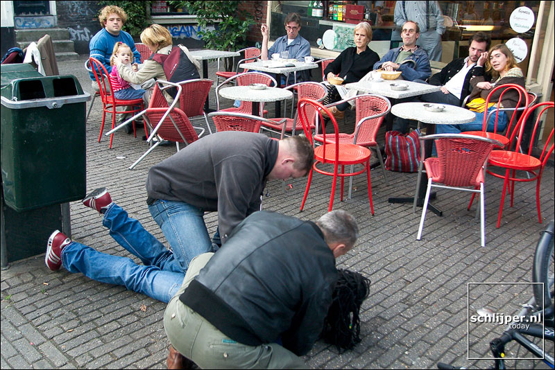 Nederland, Amsterdam, 27 september 2003