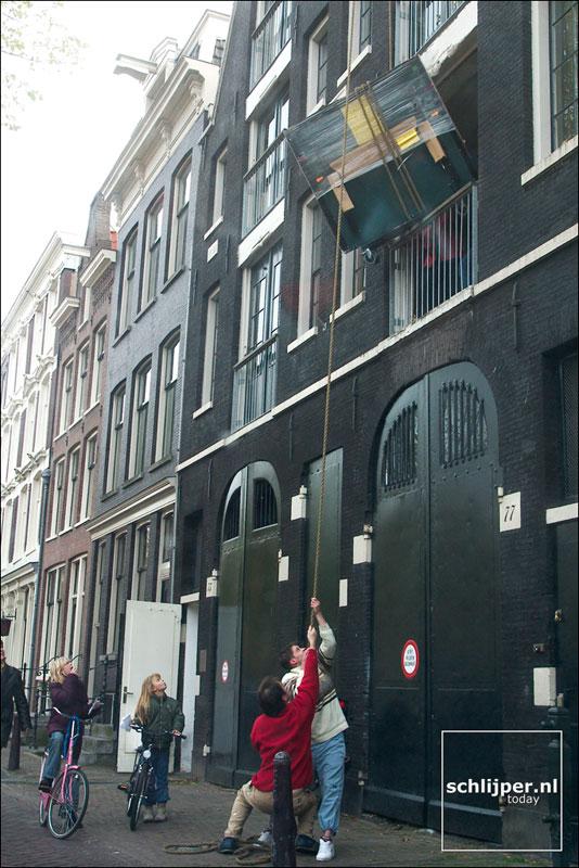 Nederland, Amsterdam, 22 oktober 2003