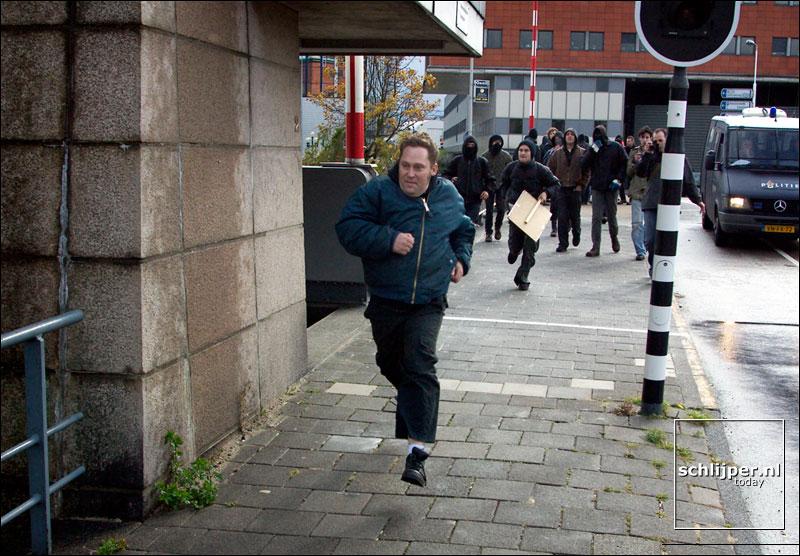 Nederland, Amsterdam, 25 oktober 2003