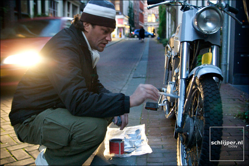 Nederland, Amsterdam, 28 oktober 2003