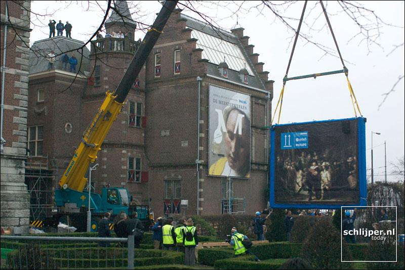 Nederland, Amsterdam, 11 december 2003