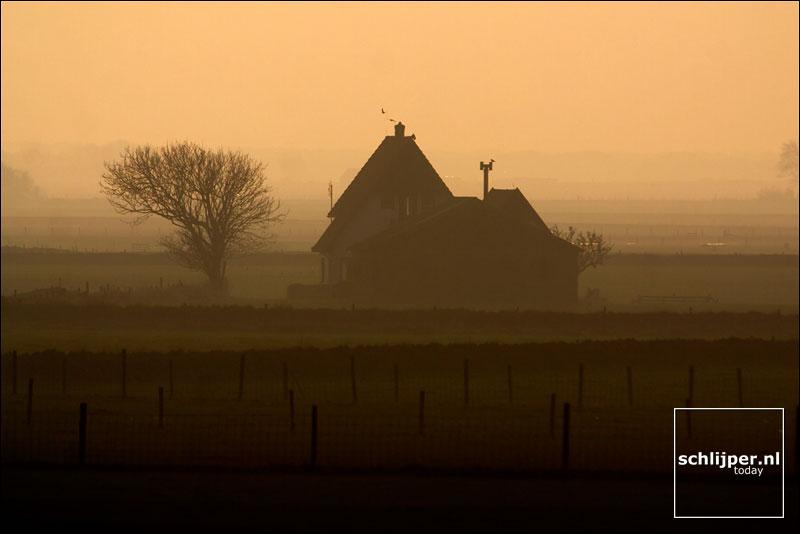 Nederland, Texel, 23 januari 2004