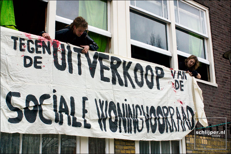 Nederland, Amsterdam, 15 februari 2004