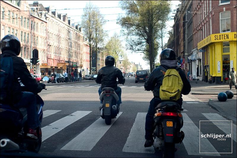 Nederland, Amsterdam, 20 april 2004