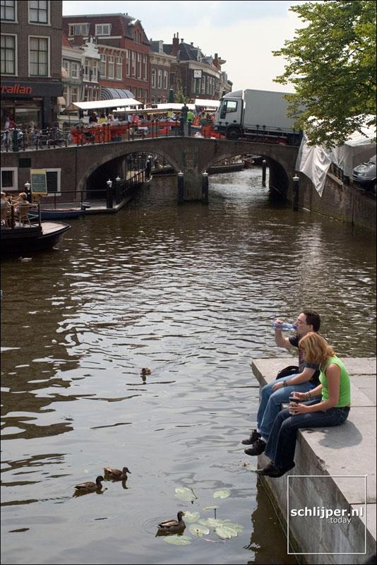 Nederland, Leiden, 24 juli 2004