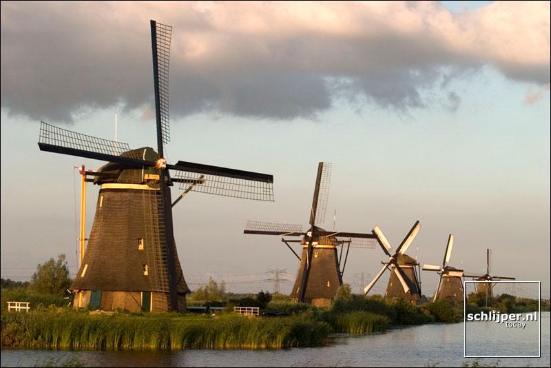 Nederland, Kinderdijk, 26 juli 2004