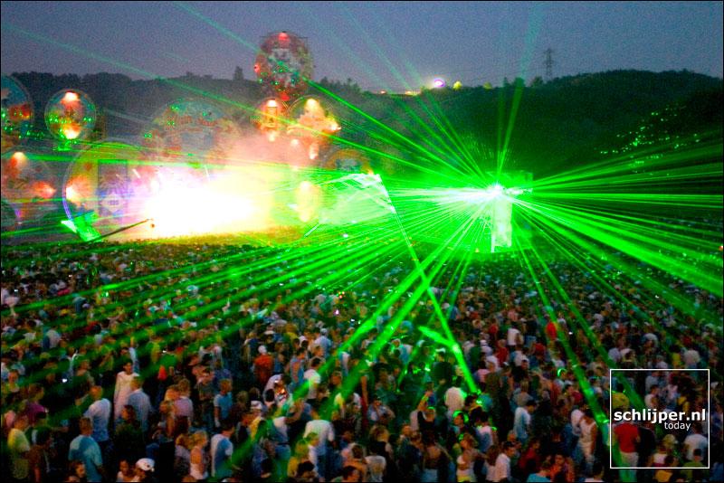 Nederland, Spaarnwoude, 7 augustus 2004