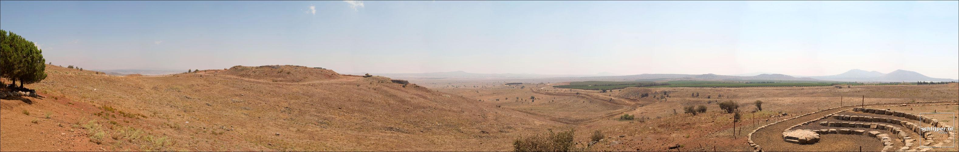 Israel, Golan Hoogvlakte, 14 augustus 2004