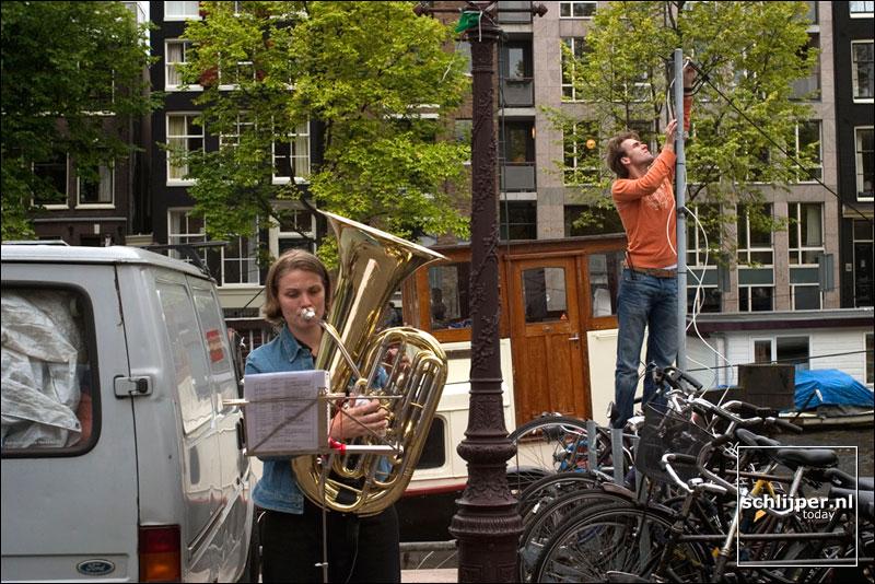 Nederland, Amsterdam, 18 september 2004