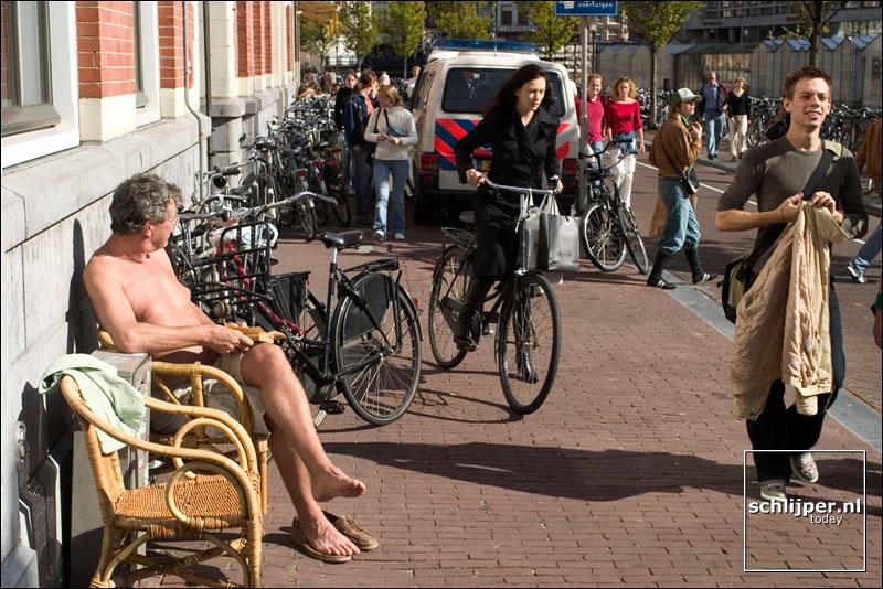 Nederland, Amsterdam, 19 september 2004