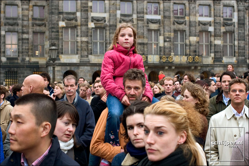 Nederland, Amsterdam, 4 mei 2005