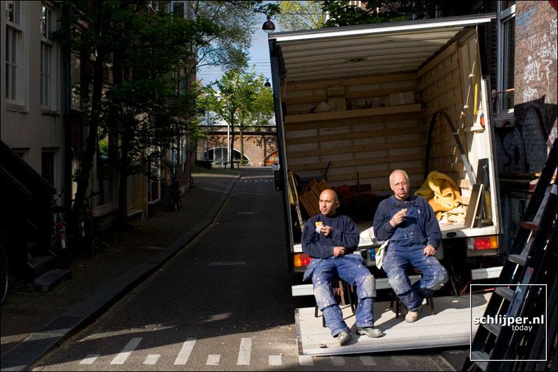 Nederland, Amsterdam, 11 mei 2005