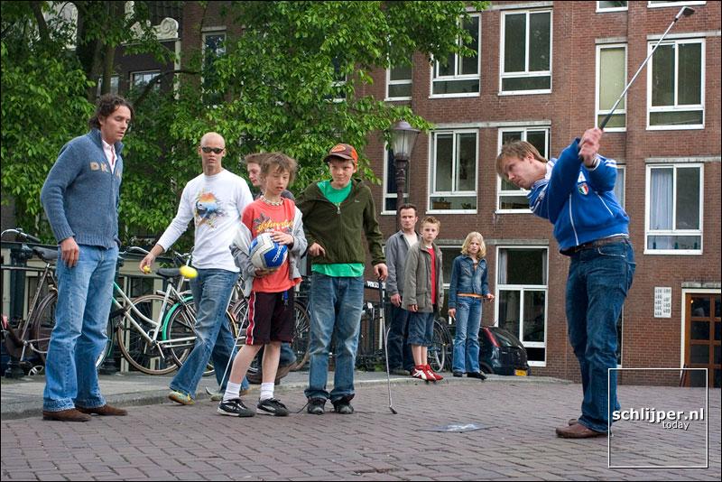 Nederland, Amsterdam, 22 mei 2005