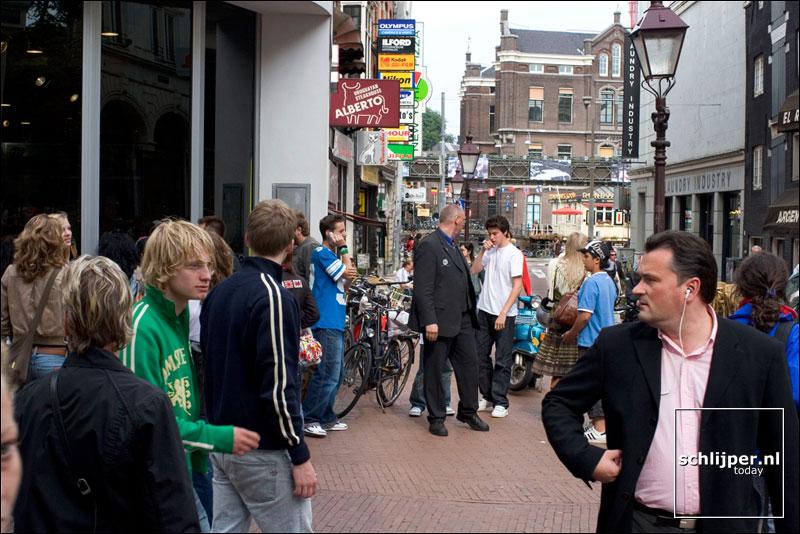 Nederland, Amsterdam, 8 juli 2005
