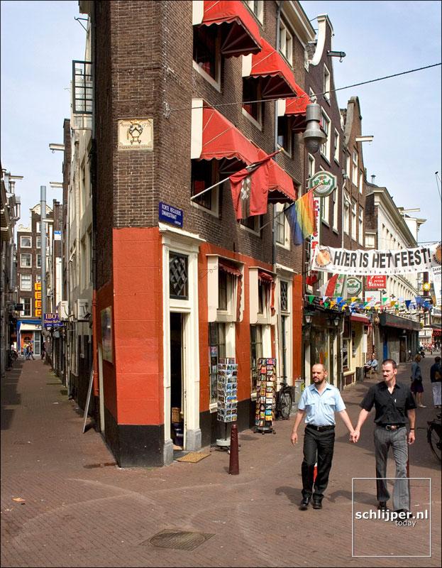 Nederland, Amsterdam, 24 juli 2005