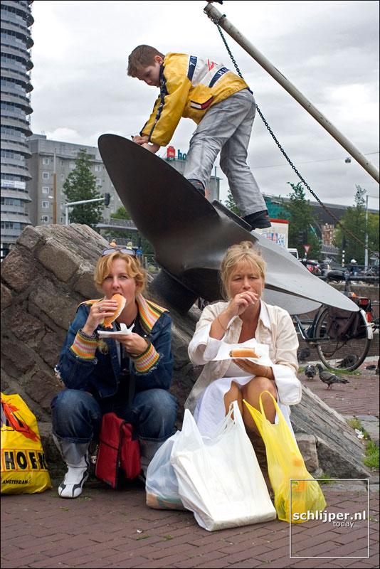 Nederland, Amsterdam, 11 augustus 2005