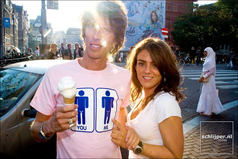 Nederland, Amsterdam, 22 september 2005