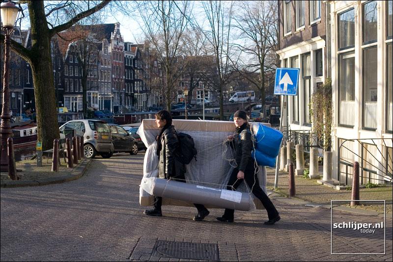 Nederland, Amsterdam, 25 januari 2007